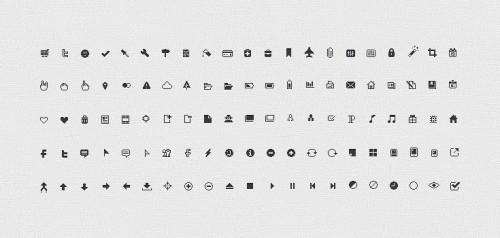 12_106 Pixel Perfect Icons