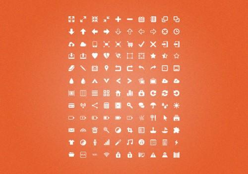 13_Silkcons - 120 Glyphs Set