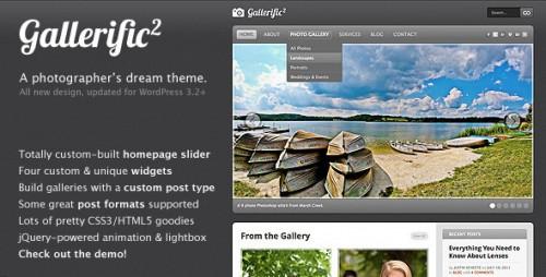 15_Gallerific - Photography WordPress Theme