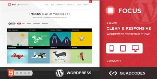 16_Focus - Clean & Responsive Ajax WordPress Theme