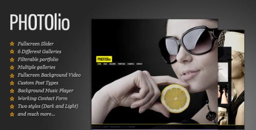 18_Photolio - Photography, Portfolio Wordpress Theme