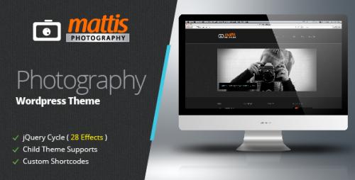 19_Mattis Photography Wordpress Theme