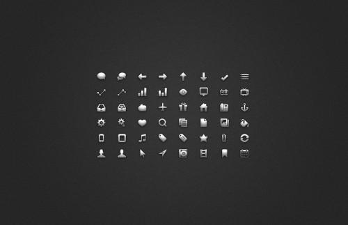 1_Glyph UI Icon Set