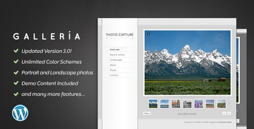 20_Galleria - Photography and Portfolio Theme