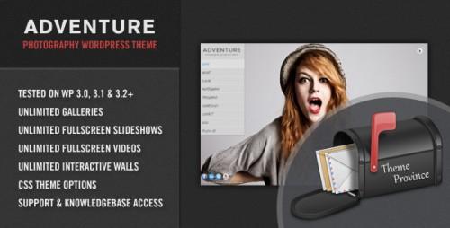 21_Adventure - A Unique Photography WordPress Theme