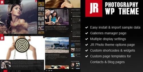 22_JR Photography Wordpress Theme