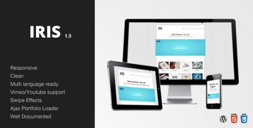 25_Iris - Clean, Responsive, Ajax, Wordpress