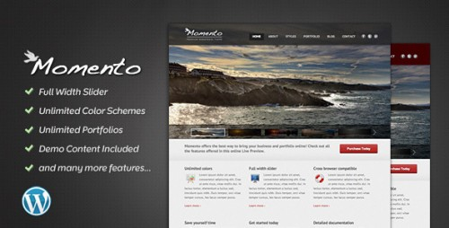 28_Momento - Photography and Business Theme