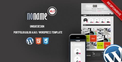 2_AGT Noname Ajax, Wordpress Template