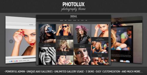 2_Photolux - Photography Portfolio WordPress Theme