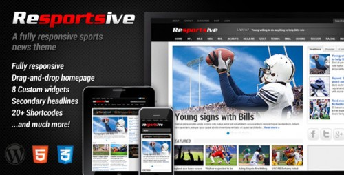 2_Resportsive - Responsive Sports News Theme