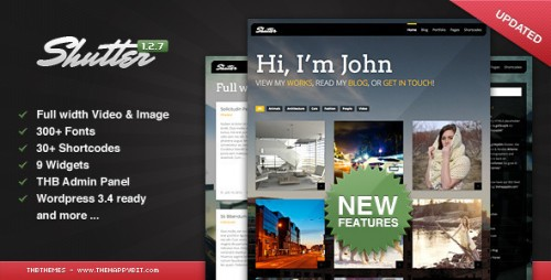 33_Shutter - Photography & Portfolio WordPress Theme