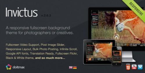 3_Invictus - A Premium Photographer Portfolio Theme