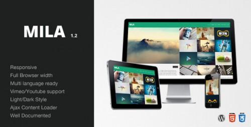 3_Mila - Ajax Portfolio Theme - Wordpress