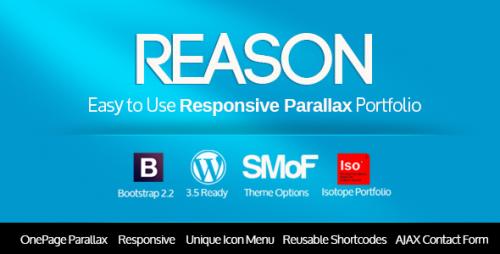 3_Reason - Wordpress Responsive Parallax Theme