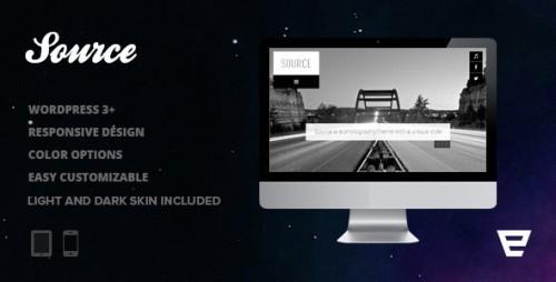 41_Source - Responsive Photography WordPress Theme