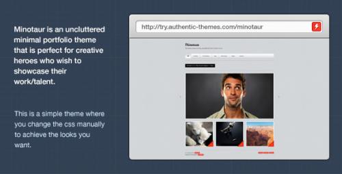 46_Minotaur Portfolio & Photography WordPress Theme