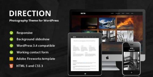 48_Direction - Photography Theme for WordPress