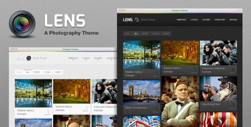 49_Lens, the Ultimate WordPress Photography Theme