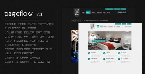 4_PageFlow - OnePage Dynamic AJAX Portfolio