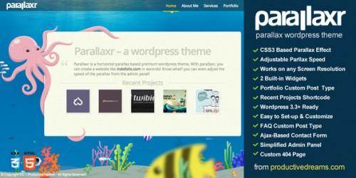 5_Parallaxr - Single Page Parallax Wordpress Theme