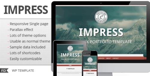 7_Impress - Responsive Parallax Single Page Theme