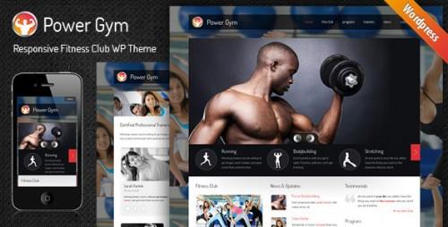 7_Power Gym - Responsive Wordpress Theme