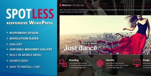 7_Spotless - Responsive Ajax Wordpress Theme