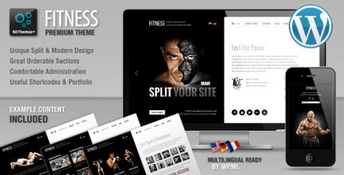 8_Fitness - Unique Design Meets WordPress