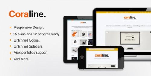 9_Coraline Ajax And Responsive WordPress Theme