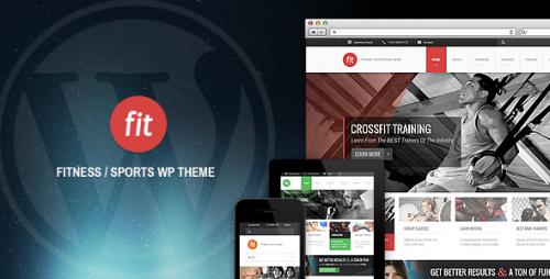 9_FIT - Fitness, Gym Responsive WordPress Theme