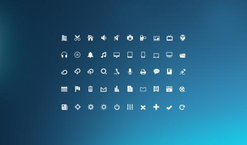 9_Mini Glyphs Icon Set