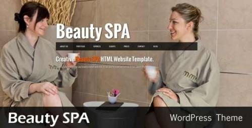 Beauty SPA - Ajaxified WordPress CMS Theme