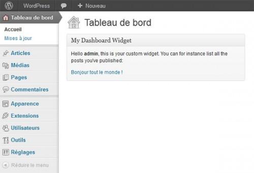 Build Custom Dashboard Widgets