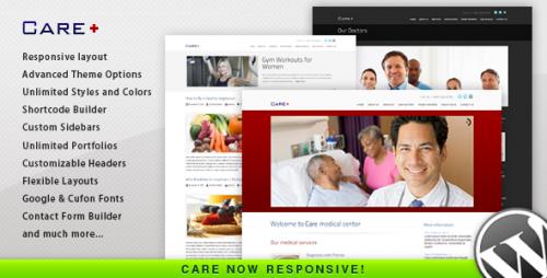 Care - Medical and Health WordPress Theme