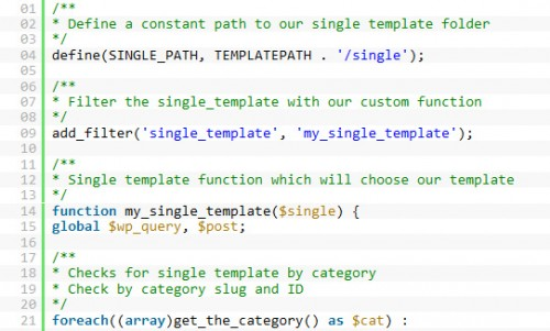 Create Custom Single Post Templates for Specific Posts