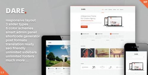 Dare - Clean and Modern WordPress Theme