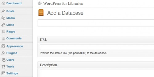 Library Custom Post Types