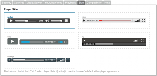Secure HTML5 Video Player