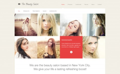 The Beauty Salon WordPress Theme