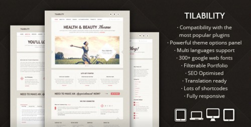 Tilability - Responsive Health & Beauty Theme