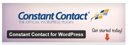 Constant Contact for WordPress