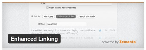 Enhanced Linking