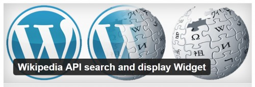 Wikipedia API Search and Display Widget