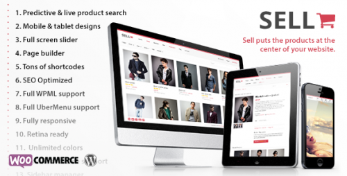 Sell: Responsive eCommerce WP Theme