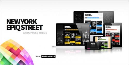 New York Epiq Street - Creative WP Theme