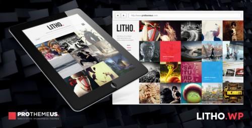 Litho - WordPress Theme for Visual Enthusiasts