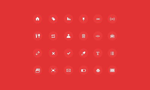 Sharp Pixel Icons
