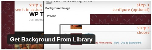 Get Background From Library