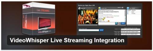 VideoWhisper Live Streaming Integration